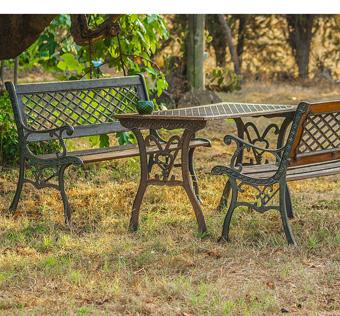 Gartenmöbel, Gartenliege, Gartenbank, nachhaltig produziert